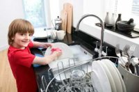 child-washing-up