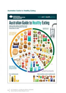 adults Australian dietary guidelines for young