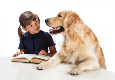 dog_child_reading