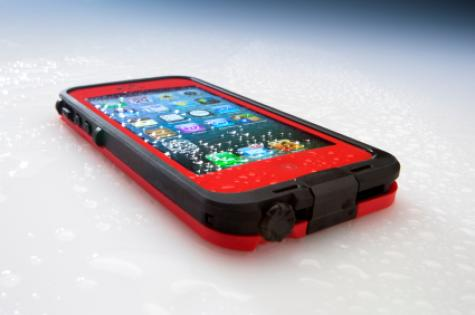 red_smart_phone