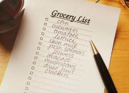 food-shopping-list