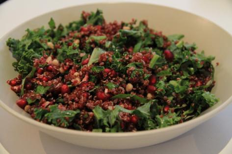 kale-and-pomegranate-salad
