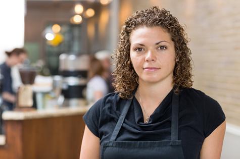 woman-cafe-employee