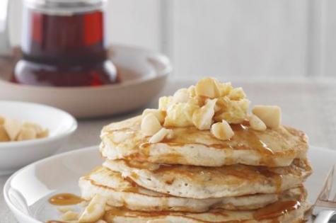 Macadamia pancake