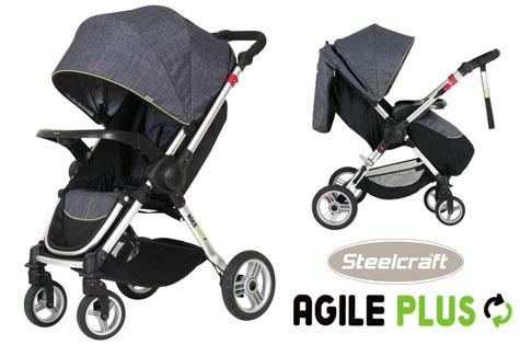 Agile plus stroller steelcraft