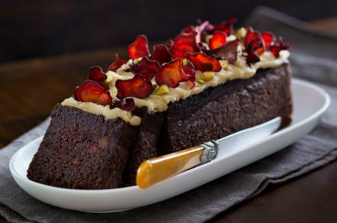 Img beetroot and chocolate loaf with cashew frosting1