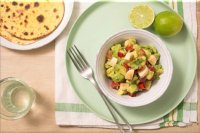 Banana guacamole for adults