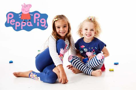Peppa pig clothing line