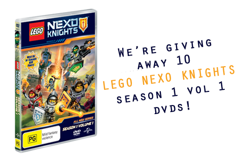 Lego nexo knights cover-2