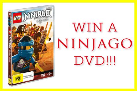 Win a ninjago dvd - motherpedia