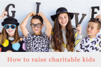 Raise charitable children - motherpedia