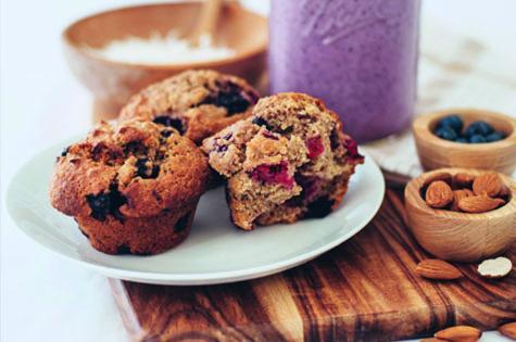 Weet-bix berry nice muffins - motherpedia