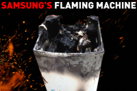 Samsung flaming machine - cover - motherpedia