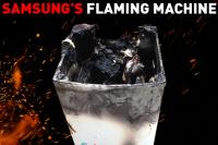 Samsung flaming machine - cover - motherpedia