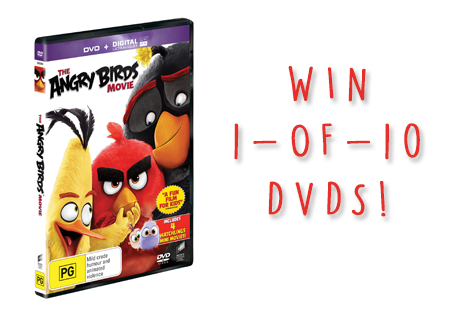 Angry birds giveaway cover