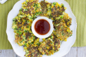 Cheesy vegetable fritters - cover - motherpedia