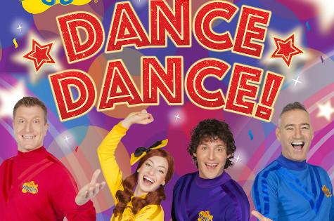 Album cover art the wiggles dancedance!  rel 2 sept 2016