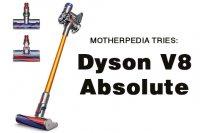 Dyson v8 hero image gold