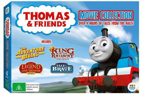Thomas and friends giveaway cover