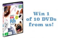 The secret life of pets dvd giveaway cover