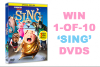 Sing competition dvd cover
