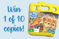 Peter rabbit giveaway cover