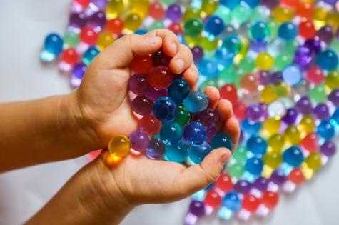 Water beads kids cover
