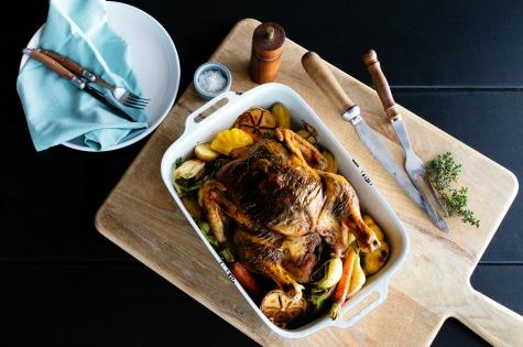 Weekend-recipe-miguels-black-skin-roasted-mushroom-chicken